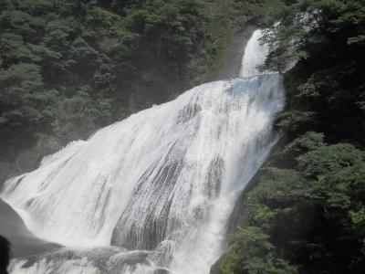 父娘旅行 水郡線で袋田の滝へ