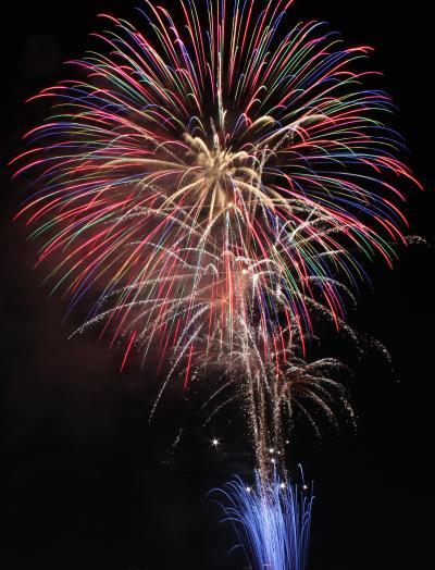 真夏の夜空に大輪 「第22回 なにわ淀川花火大会」 ちびくま撮影分