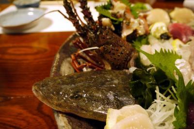 08.海の日の3連休を過ごすHVC静波海岸 磯料理一石(いっこく)の夕食