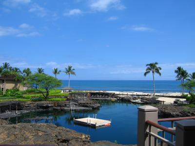 ハワイ島~旅のはじまり・・・ファーストクラスとフォーシーズンズ・ファラライのスィートから