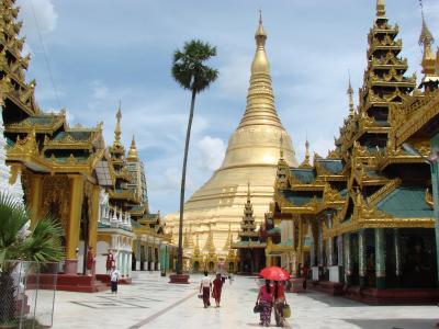 ミャンマーの旅 シュワダゴンパヤ。