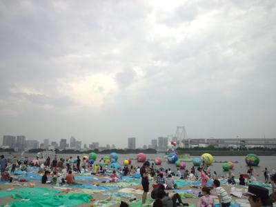 夏の恒例行事☆東京湾花火大会へ行ってきました*゚v゚*