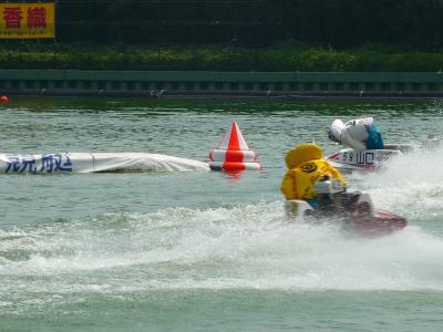 2010 夏 第1弾!念願の競艇観戦!~多摩川競艇