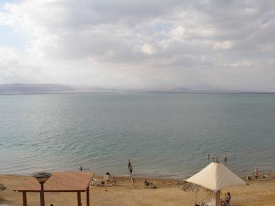 浮くのは自重した死海~中東旅行12