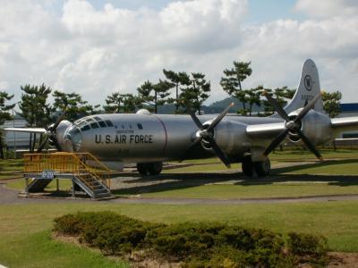 アメリカ空軍 戦略爆撃機 B−29の本物を見に韓国へ