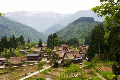 五箇山・相倉集落をぶらりと散策しました