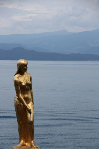 2010・夏 東北の旅 ◆ 5日目 秋田市内から田沢湖へ