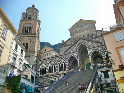 イタリア鉄道旅行、最高!- サレルノからアマルフィへ
