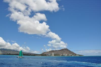 2010年 家族でハワイ 1日目