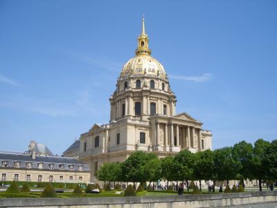 フランス ドライブとパリ美術館めぐり5:ベルサイユ宮殿、アンバリッドなど