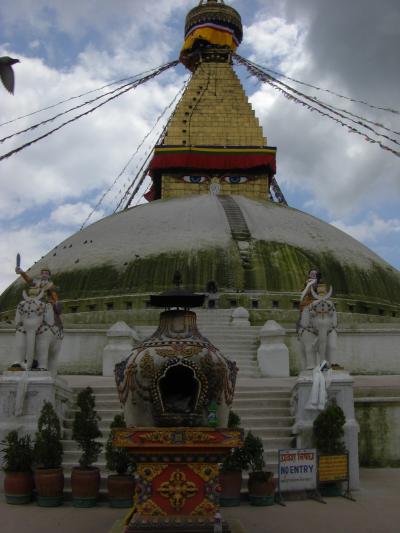 エベレストの麓の天空の国を訪ねて⑥ ~ネパール・カトマンズ、ボダナート・スワヤンプナート編~