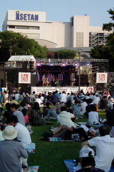 もんじぇ 相模大野  Food&Jazz Festa 2010
