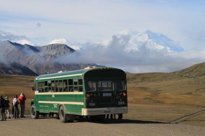 アラスカ旅(4) デナリ国立公園