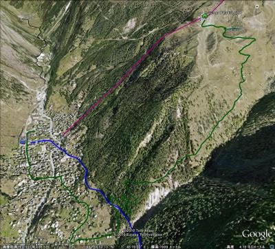 201007 スイスアルプス その16 スネガパラダイス~フィンデルン