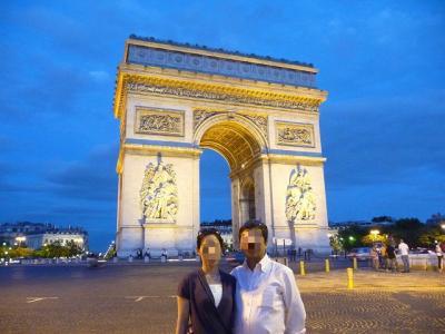 パリ、ストップオーバー駆け足旅