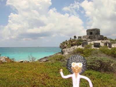 なみお&みすたぁのなんちゃって世界一周旅行 メキシコ・トゥルム遺跡①