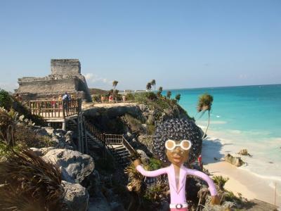なみお&みすたぁのなんちゃって世界一周旅行 メキシコ・トゥルム遺跡②