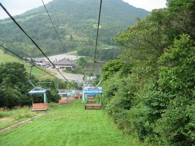 名古屋より4℃は涼しい 茶臼山高原へ