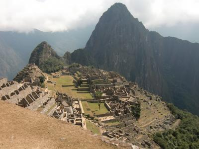2010夏:南米、念願のマチュピチュへ(4) @マチュピチュ