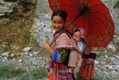 初ベトナム (2) 最高でした。少数民族のマーケット