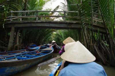ベトナム弾丸旅行  メコン河が見たい   そしてホーチミンも