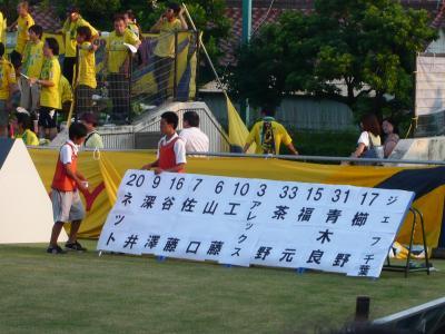 2010.08サッカー観戦 ジェフ千葉×FC岐阜