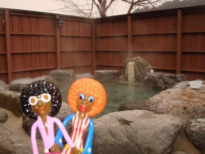 みすたぁの小野川温泉で湯巡り♪