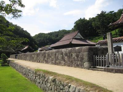 お盆に岡山から広島ドライブ6 閑谷(しずたに)学校を観る