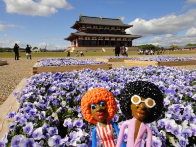 みすたぁの奈良で沢山の仏像に会いに行こう♪の旅 2日目 平城宮跡