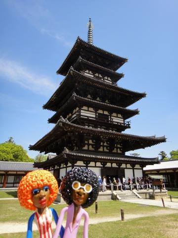 みすたぁの奈良で沢山の仏像に会いに行こう♪の旅 3日目 薬師寺