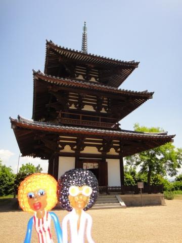 みすたぁの奈良で沢山の仏像に会いに行こう♪の旅 4日目 法起寺