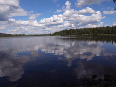 森と湖の国FINLAND ひとり旅 part6 <アウランコ 湖>