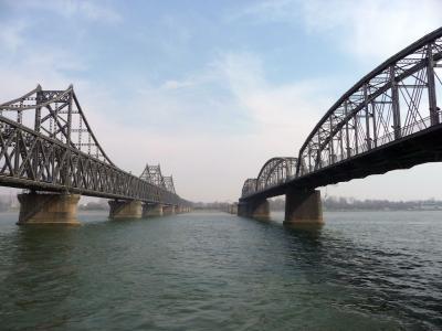 2009 04 北朝鮮国境の街 丹東 大連