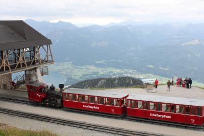 オーストリアの山を求めて一人旅Part2 (雨寸前のシャーフベルク)