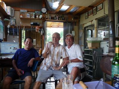 87京丹波町秘密基地 キャメロンハイランドのお友達が来てくれました・・・