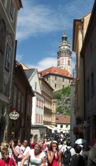 憧れの中央ヨーロッパ周遊 6日目 チェスキー・クルムロフにて