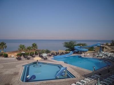 死海(Dead Sea) ~海抜マイナス419m、紫外線A波もB波もほとんど届かず、日焼けの心配なし~