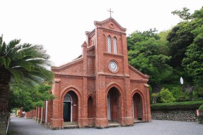 長崎県・五島福江島(その1/2)★大雨の中、教会群と城下町を巡る