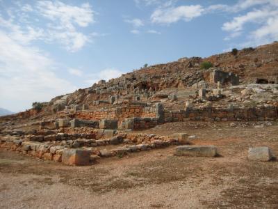 アルジェリア・ティディス遺跡
