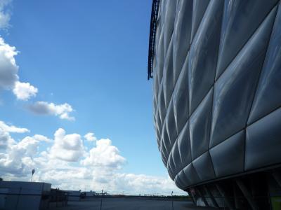 Alianz Arena in Munich(ミュンヘン アリアンツアレナ)