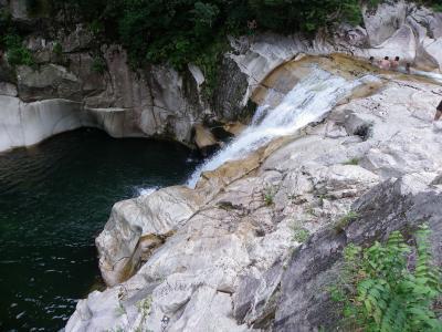 羅漢大滝(広島県廿日市市)◆2010年夏・中国四県の滝めぐり【その10】