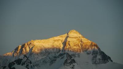 チベットからチョモランマへ(4) シガツェからチョモランマへ 感動の夕日と夜の星空