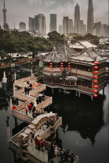 上海出張3 2010年9月 上海老街~豫園~新天地~田子坊