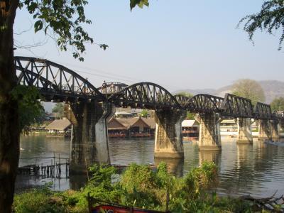 避寒のタイ旅行 3:カンチャナブリー(戦場にかける橋)