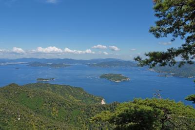 広島出張旅行3-宮島2(獅子岩の絶景)