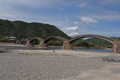 2010.9広島出張旅行9終-錦帯橋,よ志だ本店の岩国すし