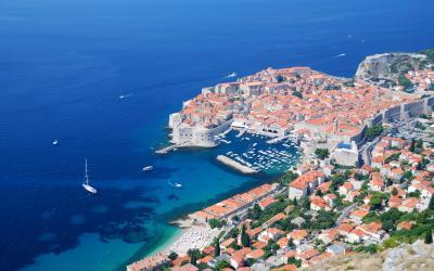 あっちっち クロアチア夏の旅(5)~スルジ山からドブロヴニクの街を眺めて