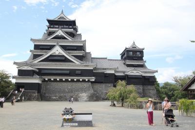 """日本3名城の一つ""""熊本城""""観光"""