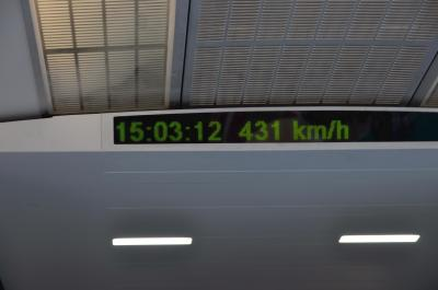 リニアの加速性能