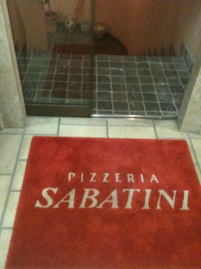ピッツェリア・サバティーニ 青山で誕生日祝い